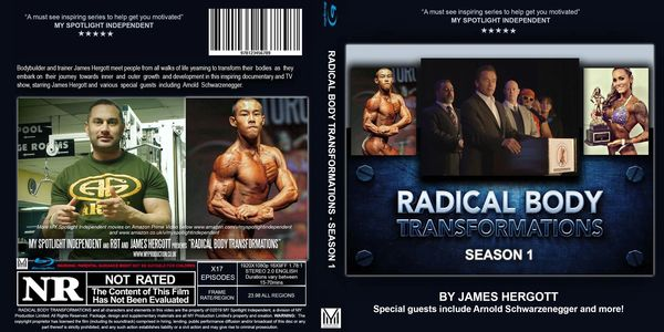 Blu Ray & DVD for Radical Body Transformations