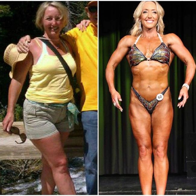 "Jennifer Remazki's ""Radical Body Transformations"" before and after weight loss transformation."