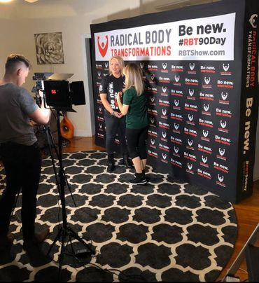 "Amazon Prime's Red Carpet ""Radical Body Transformations"" cast interview"