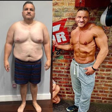 "Anthony Lolli's amazing 9 month ""Radical Body Transformation"""