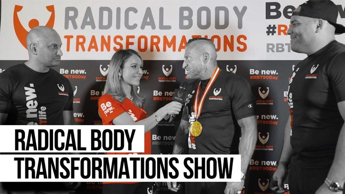 Radical Body Transformations on set with Tereza, Anthony Lolli and Carlos.