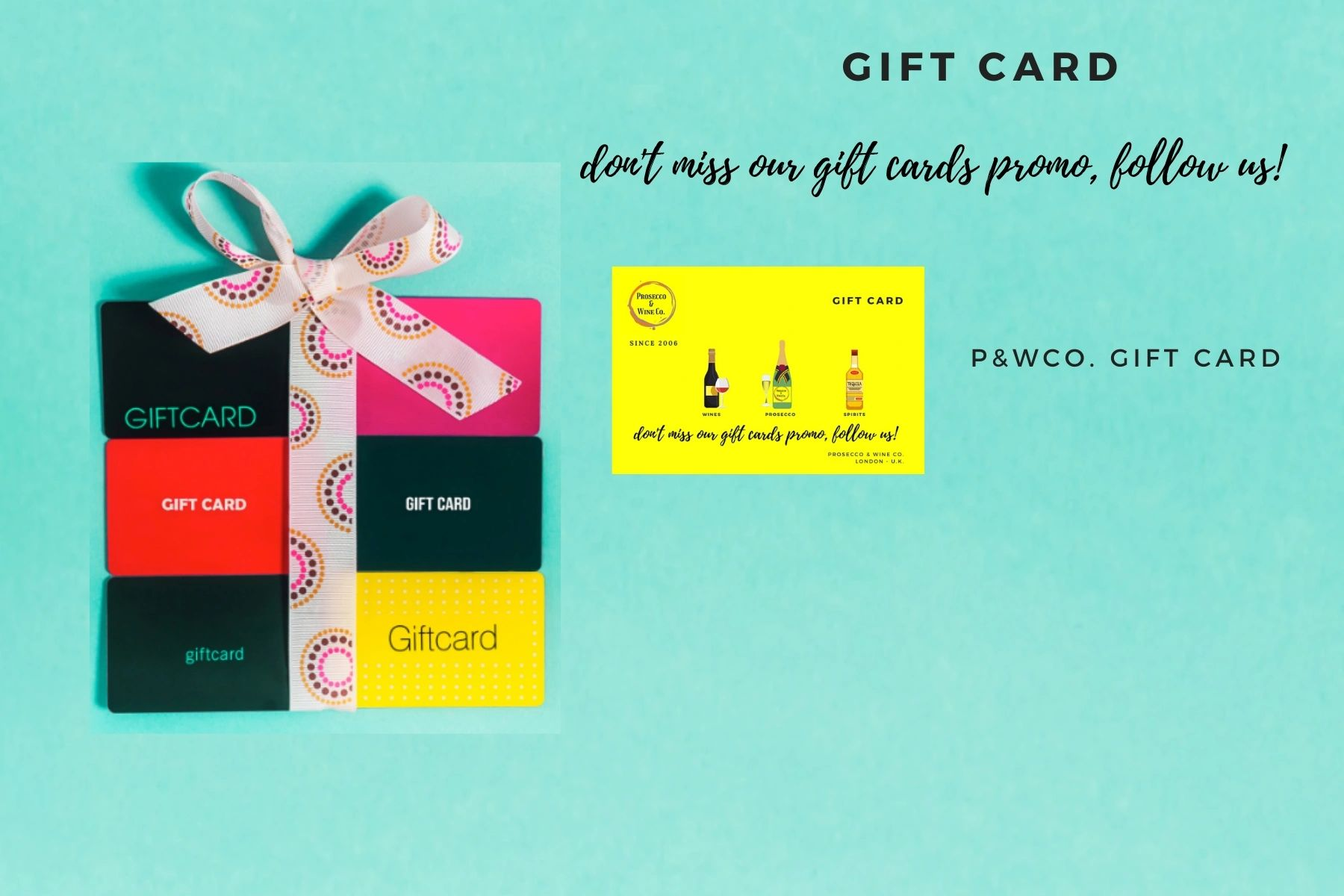 Send a gift card to friends and family or buy it now for your future use. Check our promo gift cards