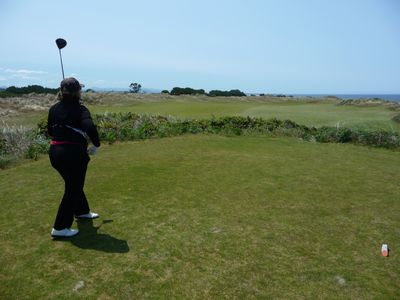 A bucket list round of golf at  Bandon Dunes, Oregon