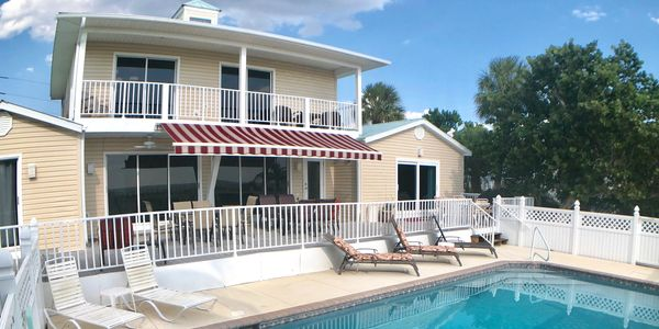Beachfront Vacation Rental with Pool