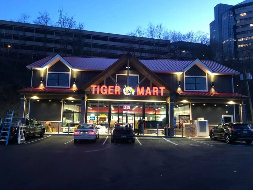 Tiger Mart on Rt. 46 in Little Falls, NJ