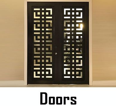 Chic Setter, Carved Door Covers & Grills for Entry Doors, Glass & Mirrored Closet or Shower Doors