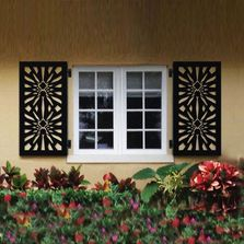 CHIC SETTER Window Shutters,  High Impact, Mold & Mildew Resistant, Never Needs Painting,