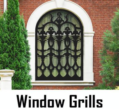 Maintenance Free Custom designed Window Shutters, Grills and Screens made in USA by CHIC SETTER