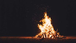 The Martin of Tours  Annual Bonfire