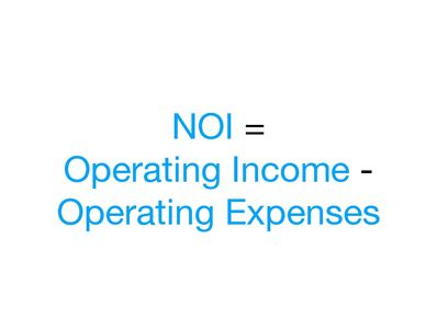 Net Operating Income (NOI)