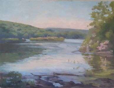 Hudson Valley Lakes, Kanawauke, Mountain Laurel, Marine, water Landscape, peaceful, serene
