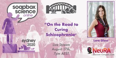"Lara Glass ""On the Road to Curing Schizophrenia"""