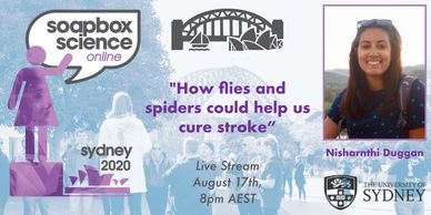 "Nisha Duggan ""How Flies and spiders could help us cure stroke"""