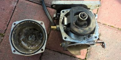 outboard carburettor