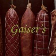 Gaiser's meat products, smoked meat, kielbasy