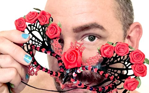 Paul Richmond Masks Drag LGBTQ