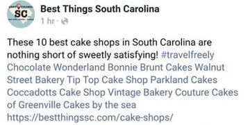 Vintage Bakery in Best Things South Carolina Top 10