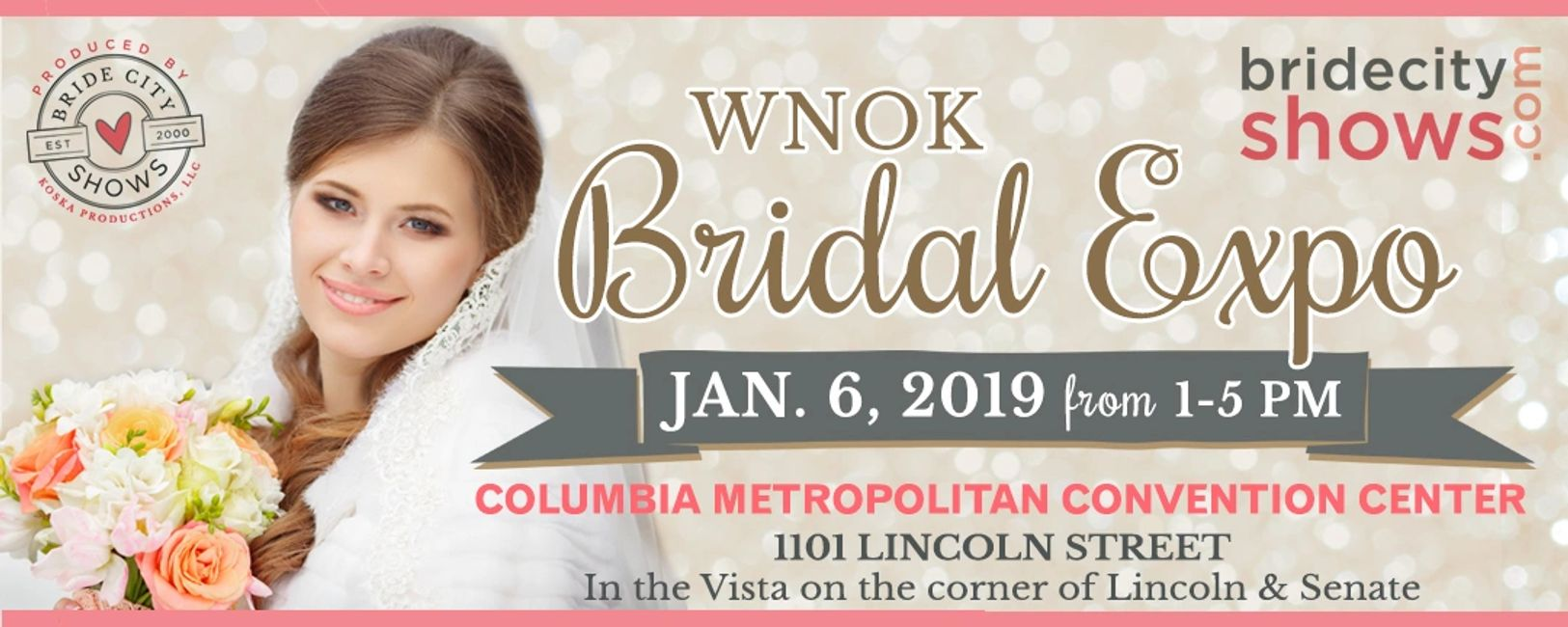 WNOK Bridal Expo, January 6, 2019