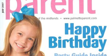 Vintage Bakery on Palmetto Parent Magazine Cover