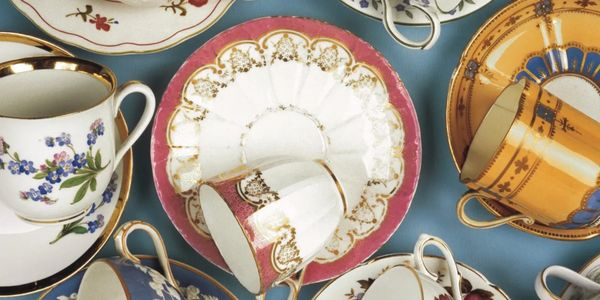 antique and collectible china teacups and saucers
