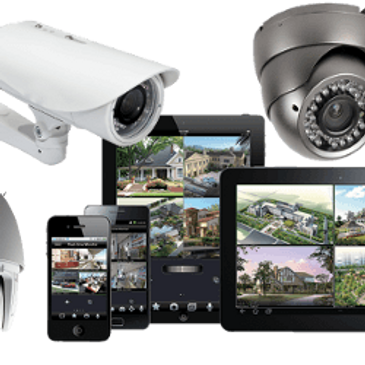Domestic CCTV installation services