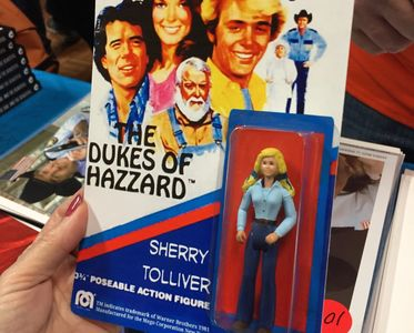 Action figure of Dorothy Best's character Sherry Tolliver.
