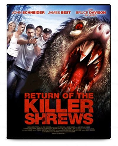 Return of the Killer Shrews DVD cover