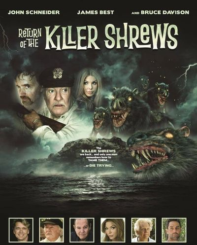 Return of the Killer Shrews poster.