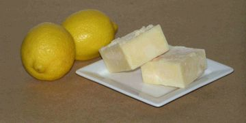 Lemon Square Shampoo Bar Soap - Soap-O-Therapy