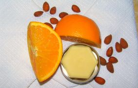 Almond Orange Body Balm Bar - Soap-O-Therapy