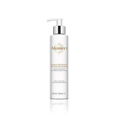 Purifying Gel Cleanser is a pH balanced foaming cleanser that gently and effectively cleans skin by