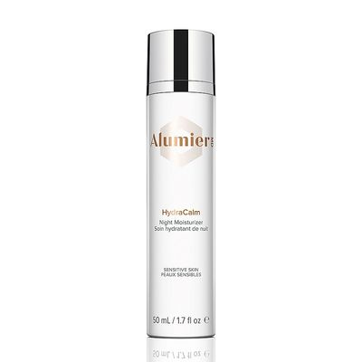 AlumierMD HydraCalm Moisturizer is a soothing and rich moisturizing cream loaded with antioxidants and calming ingredients for sensitive and redness-prone skin.