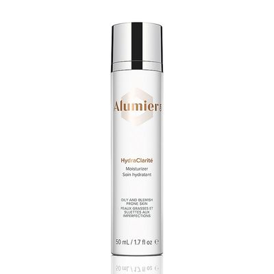 AlumierMD HydraClarite Moisturizer is an ultra-light, non-comedogenic antioxidant-rich moisturizer formulated for oily and blemish-prone skin, which absorbs quickly and effectively leaving no residue.