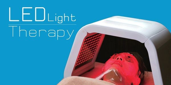 LED light therapy tackles a variety of skin concerns including acne, pigmentation, redness and more.