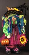 Boo! Our one of a kind dolls for Halloween,(or any time of year), are not too scary, often silly, an