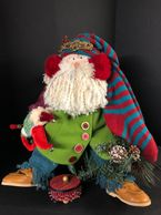 Welcome a Holiday one of a kind doll for Christmas in your home and joy will surely spread through t