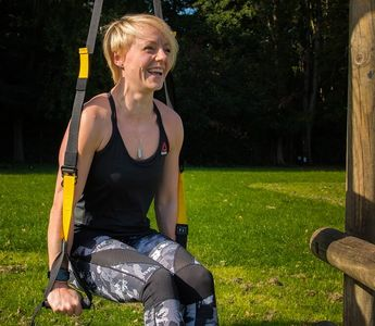 Jodie Standish, personal training, Jodie standish personal trainer, standfit+  healthy, TRX, Laugh