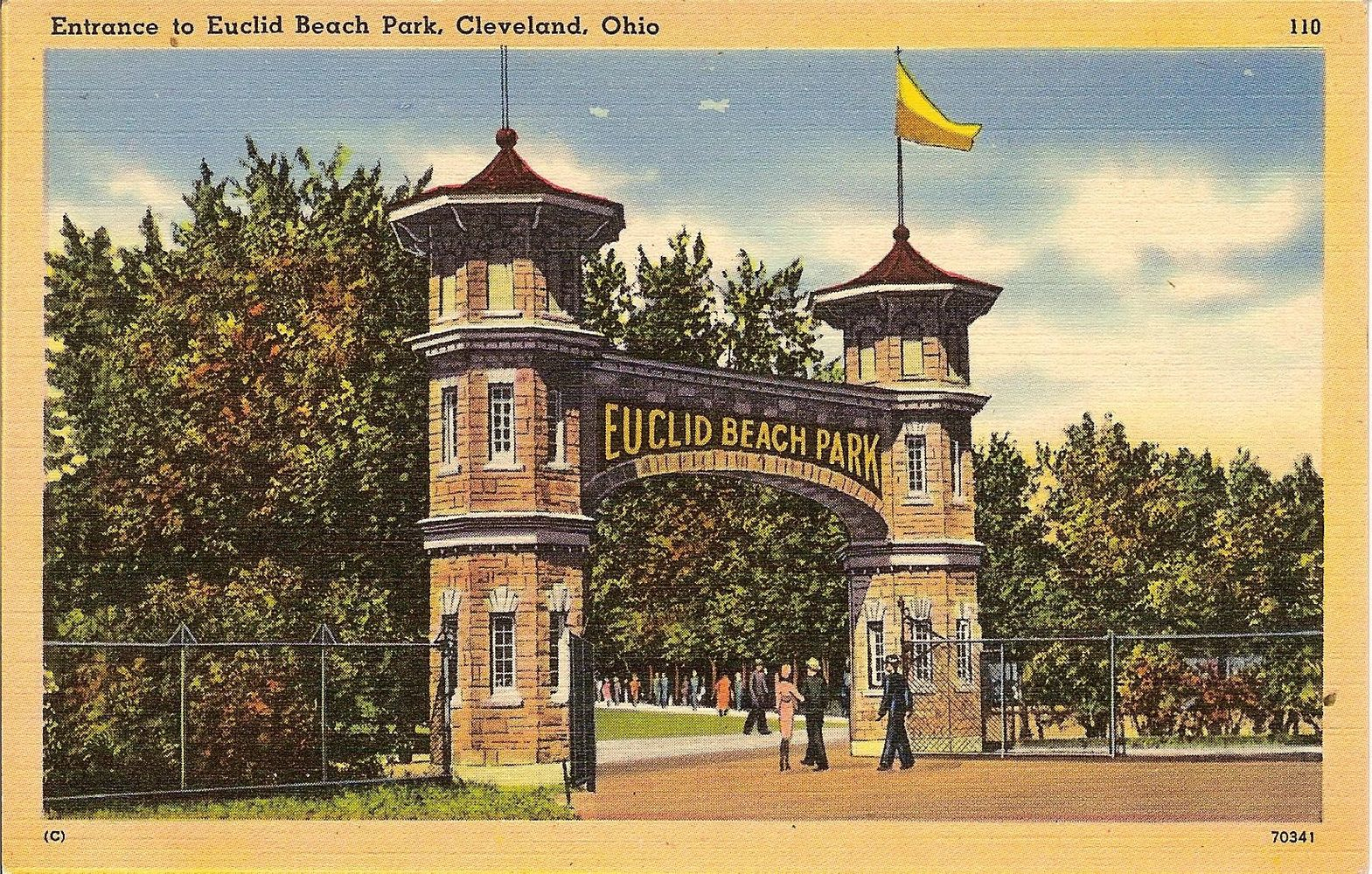 Image from an old Euclid Beach Park postcard.