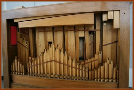Band Organ, Facade and look behind