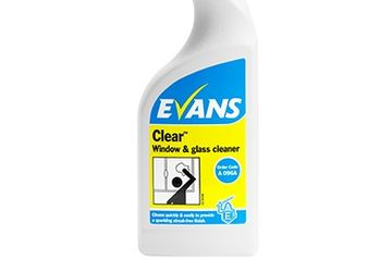 CLEAR WINDOW CLEANER EVANS