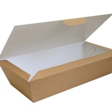 PAPER FISH AND CHIP BOX
