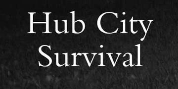 Hub City Survival cover by K. M. Cooper