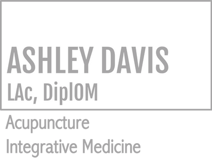 Ashley Davis - Acupuncture and Herbal medicine