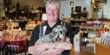 Roger Clayton, Proprietor:  Roger came to Arista Wine Cellars, first as an avid wine loving customer