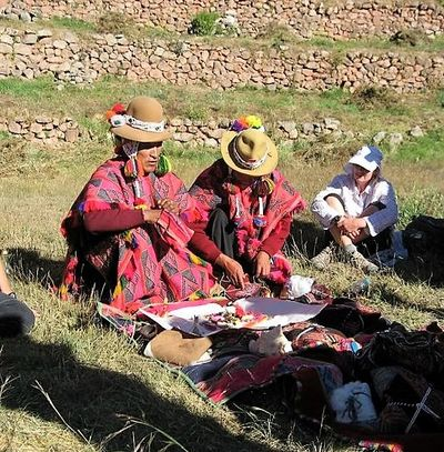 Despacho ceremony with Q'ero of the Andes