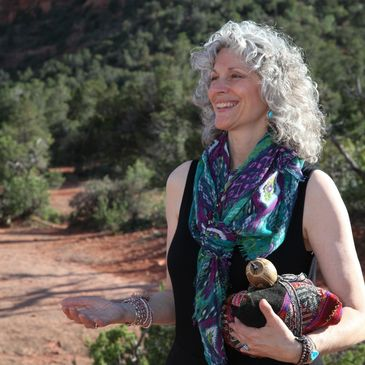 Shamanic offering of reverence and joy to Sedona and all it's beauty.