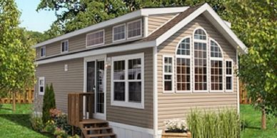 The exterior options are nearly unlimited. Use the color selector to create the perfect cabin,