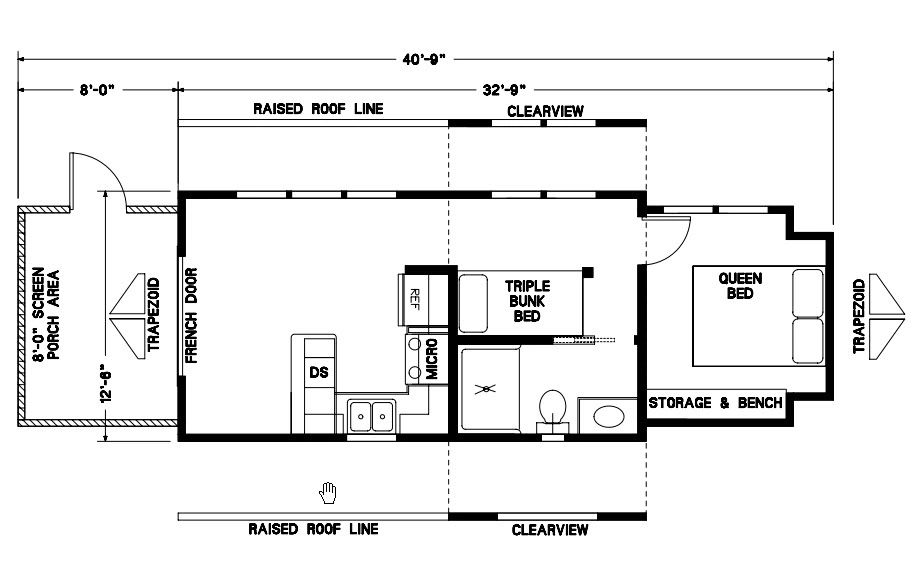 Cabin Floor-plans | Elegant Rustic Cabins on tumbleweed house plans, new york loft floor plans, small loft house plans, micro house floor plans, house designs with floor plans, two bedroom loft floor plans, tiny home house plans,