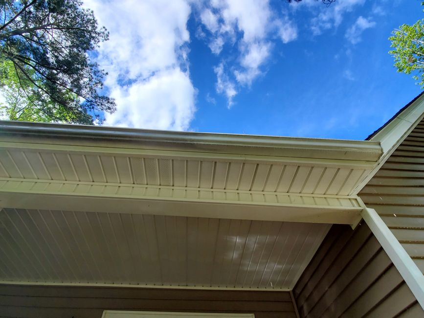 Gutter Brightening services in Augusta GA from Patriot Pro Wash.