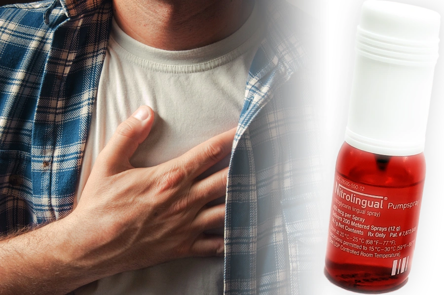 Nitrolingual® Pumpspray is indicated for acute relief of attack or prophylaxis of angina pectoris.
